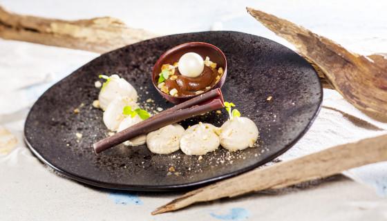 Hazelnoot dessert
