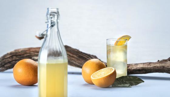 Sinaasappel-citroen limonade