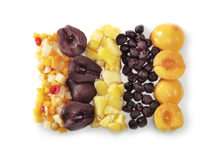Keukenkastje fruitige voorraad